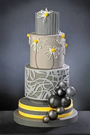 Modern Cake for American Cake Decorating Trend issue - Cake by D'Adamo Cinzia