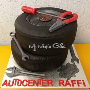 Autocenter Raffi  - Cake by My Magic Cakes