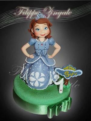 Princess Sofia - Cake by filippa zingale