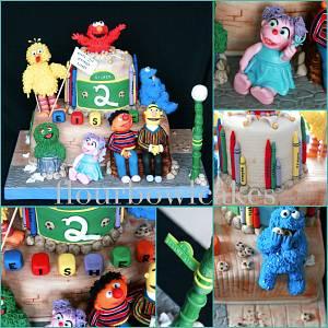 Sesame Street - Cake by Flourbowl Cakes