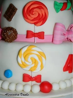 Sweets Cake - Cake by alexandravasile