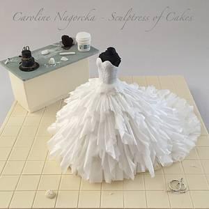 My 40th Birthday Cake - Cake by Caroline Nagorcka