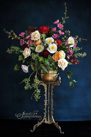 Still life Florals - Cake by Sweet Symphony
