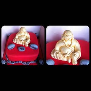 Buddha cake. - Cake by sliceofheaven