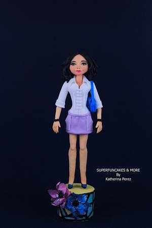 Be sure of yourself! CPC IWD Collaboration - Cake by Super Fun Cakes & More (Katherina Perez)
