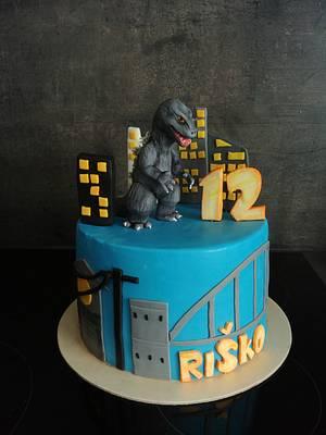 Godzilla cake - Cake by Ako cukor sladká