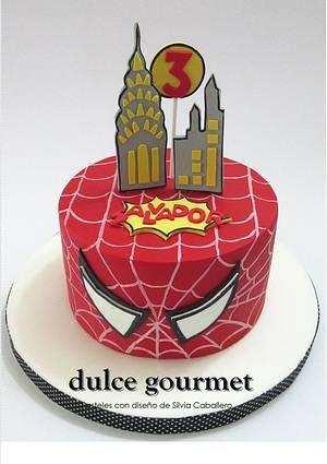 Spiderman cake - Cake by Silvia Caballero