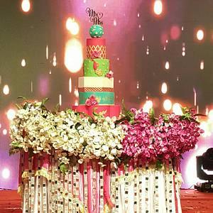 Indian Wedding Cake - Cake by Urvi Zaveri