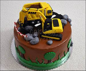 Heavy Equipment / Construction - Cake by cokcokdoysam