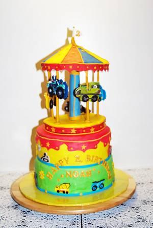 Carouselcake  - Cake by Aurelia'sTartArt