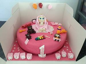 It's your first birthday  - Cake by Marie