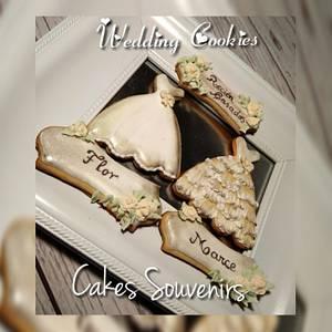 Wedding Cookies - Cake by Claudia Smichowski
