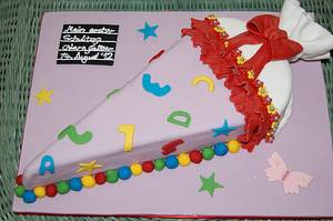 My first school day - Cake by CakeXcellence