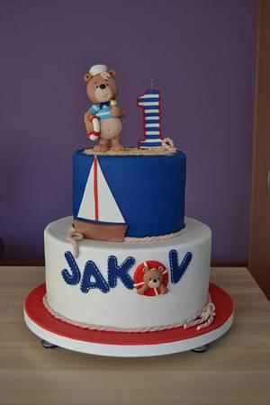 Sailor bear cake - Cake by Zaklina