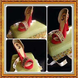 Stepping in Style - Cake by Irene Selby - Austin3DCakes