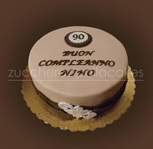 90th birthday - Cake by Sara Luvarà - Zucchero a Palla Cakes