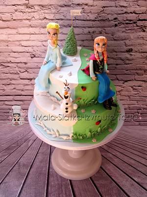 Frozen for Ana - Cake by tweetylina