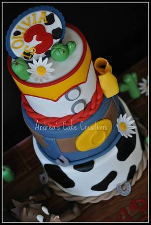 Jessie's Cake - Cake by Andrea'sCakeCreations