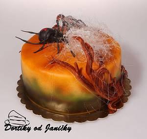 Black widow cake - Cake by dortikyodjanicky