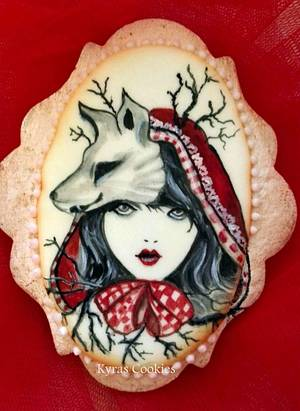 Stories!!!! Little Red Riding Hood - Cake by Anna Bonilla