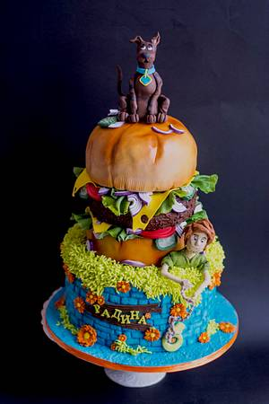 Scooby Doo cake - Cake by Delice