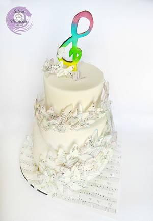 SYMPHONY  OF  BUTTERFLY - Cake by Silvia Mancini Cake Art