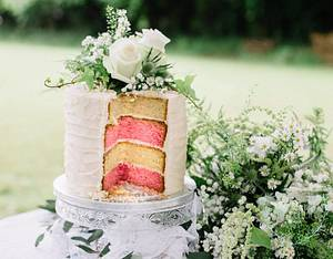 Rustic Wedding Cake - Cake by I Cake You