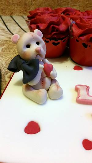Cute teddy - Cake by Love it cakes