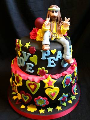 Peace man! - Cake by Love it cakes