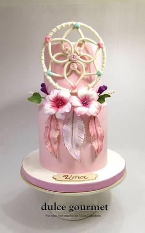 Bohochic cake - Cake by Silvia Caballero