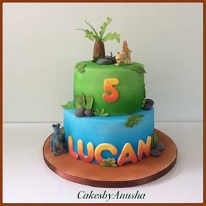 Dinosaur cake. - Cake by CakesbyAnusha