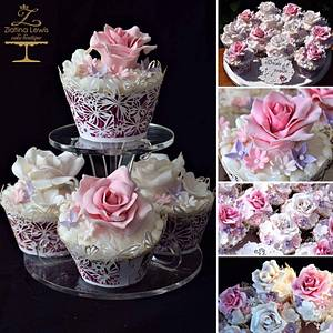 Cupcakes passion - Cake by Zlatina Lewis Cake Boutique