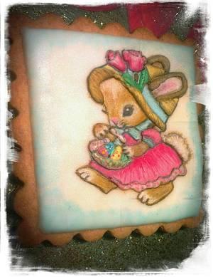 Conejito de Pascua - Cake by Yolanda