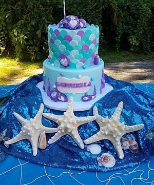 Under The Sea - Cake by Nicole Verdina