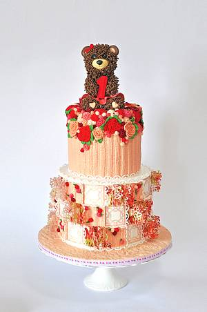 3D Patchwork princess - Cake by Delice