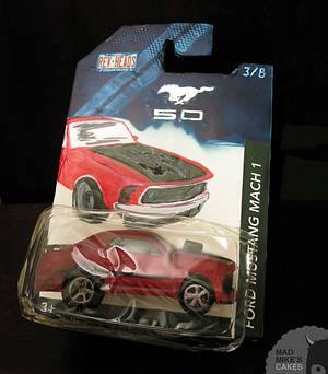 Mustang Mach 1 Toy Car - Cake by Mad Mike's Cakes