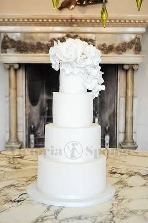 Whiter than White - Cake by Victoria Forward