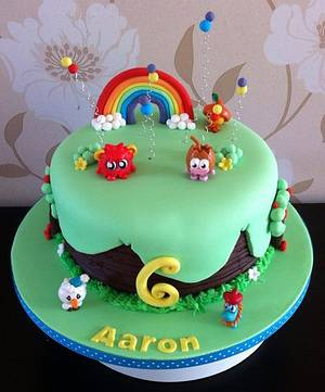 Moshi Monsters - Cake by Carrie
