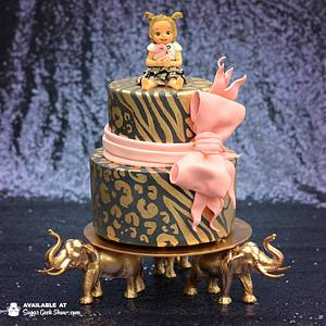 A Golden Safari Cake - Cake by Liz Marek