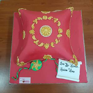 Rakshabandhan cake  - Cake by Michelle's Sweet Temptation