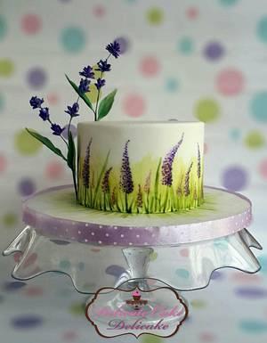 Sweet Lavender - Cake by Yomna Elazawy