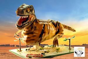 dinosaur birthdaycake - Cake by Aurelia'sTartArt