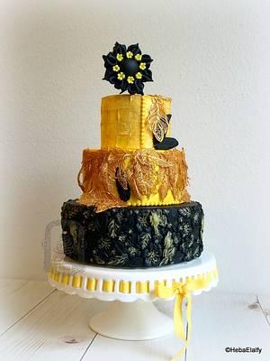 Couture Cakers Collaboration : Nefertiti - Cake by Sweet Dreams by Heba