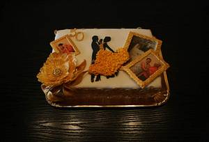 50 years of marriage - Cake by Rozy
