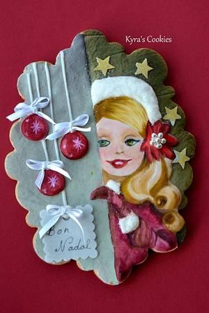Merry Christmas - Cake by Anna Bonilla