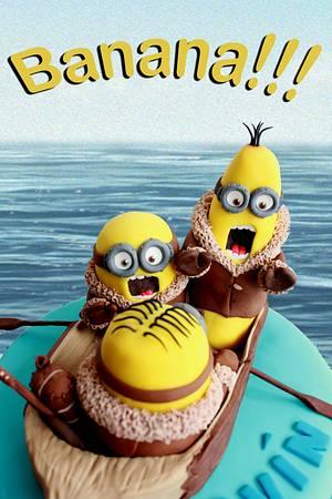 Bananaaaaa!!!!! - Cake by Artym