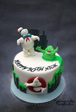 Who ya gonna call? - Cake by Spongecakes Suzebakes