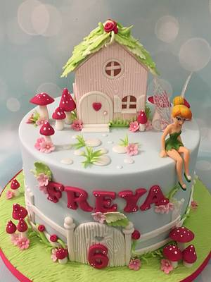 Tinkerbell fairy cake  - Cake by Shereen