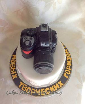Nikon Birthday cake - Cake by Irina Vakhromkina