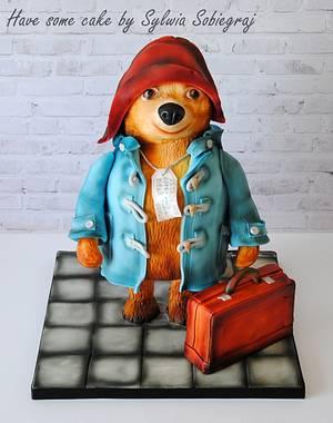 Paddington bear cake - Cake by Sylwia Sobiegraj The Cake Designer